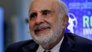 From youtube.com: Billionaire investor Carl Icahn {MID-291557}