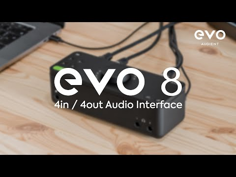 Introducing EVO 8 Audio Interface