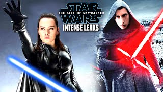 INTENSE The Rise Of Skywalker Leaks! WARNING (Star Wars Episode 9)