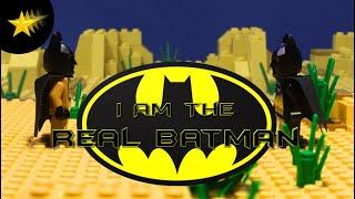 I Am The Real Batman! (IATRB)- a LEGO Batman Short Brickfilm [HD]