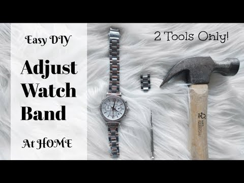 How To RESIZE a Watch Band with Home Tools | Michael Kors Watch