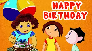 Happy Birthday | Nursery Rhyme for Kids - Animated Songs for Children