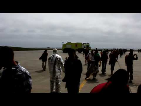 American Airlines 175 Emergency Landing Aftermath Shemya Island