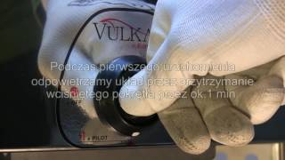 Promienniki gazowe Vulkan -  montaż