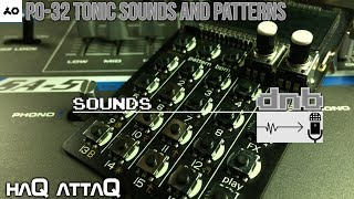 New PO-32 Tonic Sounds and Patterns │ dnb - haQ attaQ