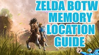 Zelda Breath Of The Wild Memory Location 4