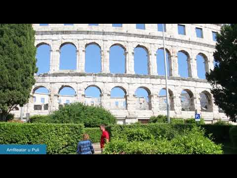 Pula Croatia 2017, Tourist video