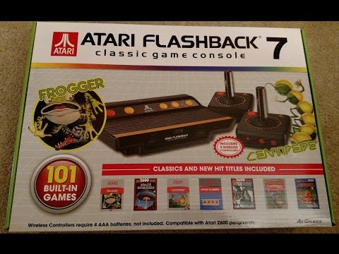 Atari Flashback 7 By AtGames Review
