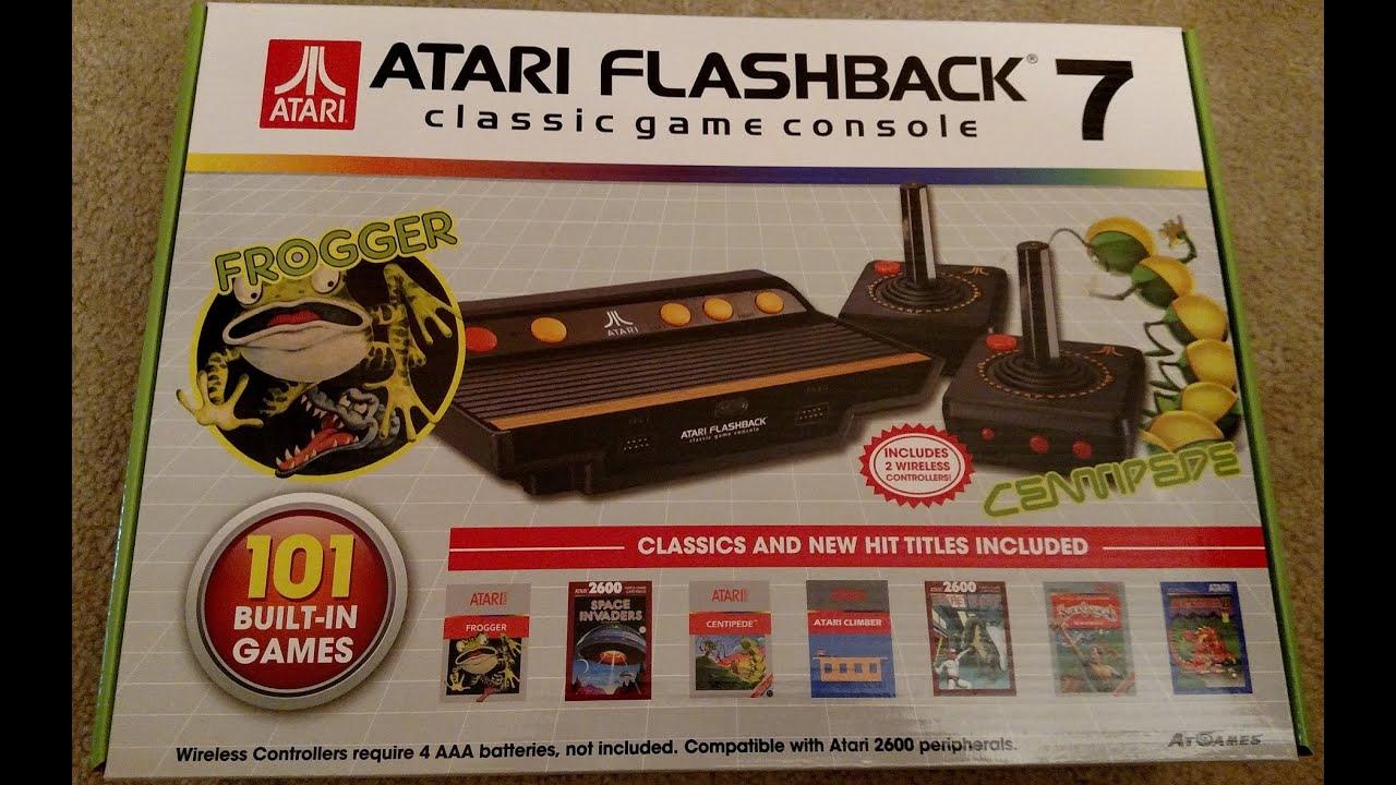 Atari Flashback 7 By Atgames Review Youtube