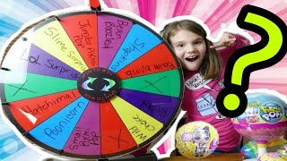 Mystery Wheel Of Prizes! Spin Wheel Challenge with LOL Suprise and More!