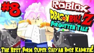 THE BEST FORM: SUPER SAIYAN ROSE KAIOKEN! | Roblox: Dragon Ball Forgotten Tale - Episode 8