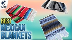 10 Best Mexican Blankets 2018
