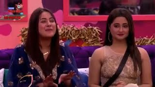 Rashami Desai and Shehnaaz Gill have a signing competition | Bigg Boss 13 | TellyChakkar