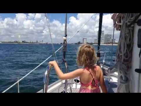 Part 5: Sailing from USVI to North Carolina: 500 Miles to Ft Lauderdale, Florida (Video 62)