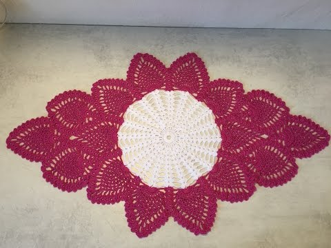 Tuto Chemin De Table Au Crochet 22