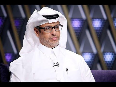 لقاء د.خالد المنيف كاتب سعودي في جريدة الجزيرة وخبير في التنمية البشرية وحديث حول اسس السعادة