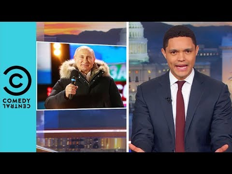 Vladimir Putin's Not So Shocking Electoral Win | The Daily Show With Trevor Noah
