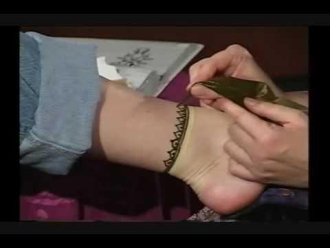 Henna Ankle Demo Mehndi Madness Krysteen Lomonaco Youtube