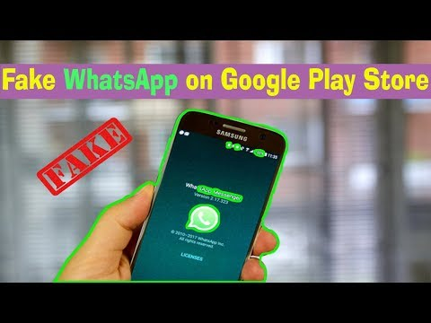 New Whatsapp Update On Google Play Store Is  Fake Application