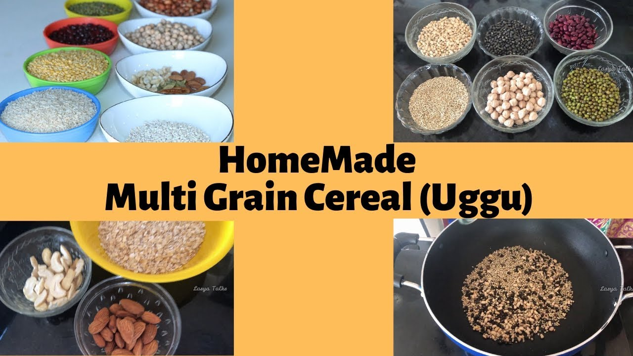 Lasya Talks || Homemade Uggu || Baby Food for 6 to 12 ...