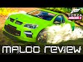 Forza Horizon 3 Fuelled Up! Ep.1 - HSV GTS Maloo Review - Deep Water Test & Exploring The Rainforest