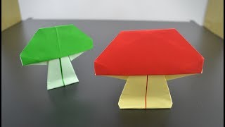 Origami: Mushroom - Instructions in English BR