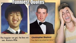 Funniest Senior Yearbook Quotes thumbnail