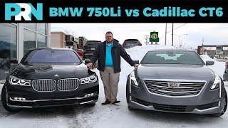 BMW 750Li vs Cadillac CT6 | TestDrive Showdown