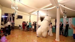 Белый медведь Дик Пневмокукла Сумы Свадьба