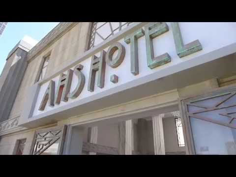 American Horror Story: Hotel Full Exhibit Tour At SDCC FX Fearless Arena 2015
