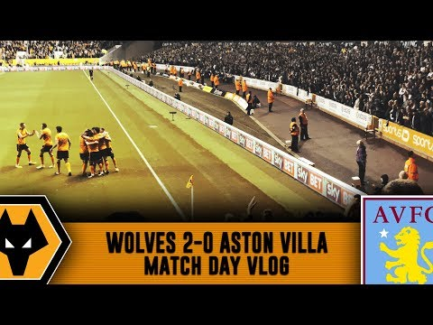 WE'RE TOP OF THE LEAGUE! - Wolves 2-0 Aston Villa VLOG