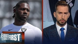 Antonio Brown's behavior is damaging to his team and his success | NFL | FIRST THINGS FIRST