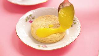 Tea Party Scones with Lemon Curd | Welcome to Nana's