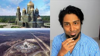 Main Cathedral of the Russian Armed Forces - Главный храм Вооружённых сил России REACTION