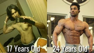 Transform Your Life | Bhuwan Chauhan FItness Transformation | 17 - 24 Years Old
