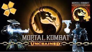 Mortal Kombat Unchained Para Android [PPSSPP] [ISO] [HD]