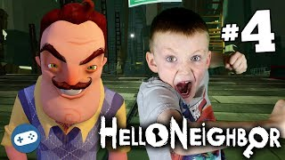 Hello Neighbor Ps4 Gameplay With Liam Part 4   The Train!