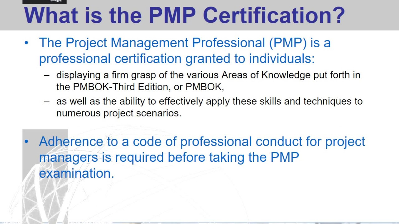 Presenting The Project Management Institute Youtube
