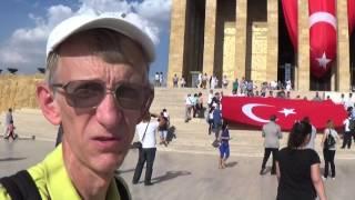 Привет из Анкары, У Мавзолея Мустафы Кемаля Ататюрка 21.09.2015