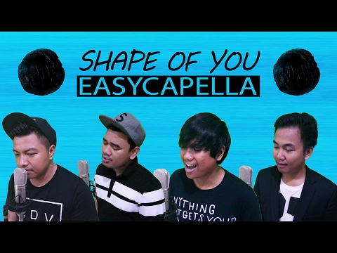 Shape Of You - Ed Sheeran (Acapella Cover by Easycapella)