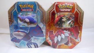 Unboxing: Pokémon TCG - Legends of Hoenn Tins