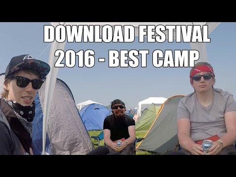 DOWNLOAD FESTIVAL 2016 - BEST CAMP