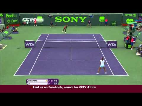 Serena Williams Claims a record seventh title in Miami Tennis Finals
