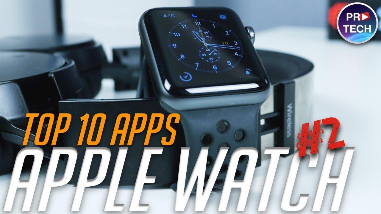 ТОП 10 лучших БЕСПЛАТНЫХ приложений для Apple Watch (+ССЫЛКИ) | №2 от ProTech