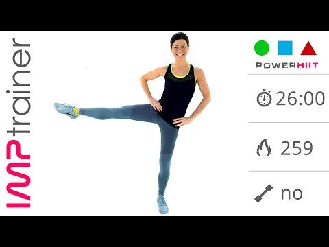 Allenamento gag intenso workout fitness da 48 minuti for Workout esterno coscia