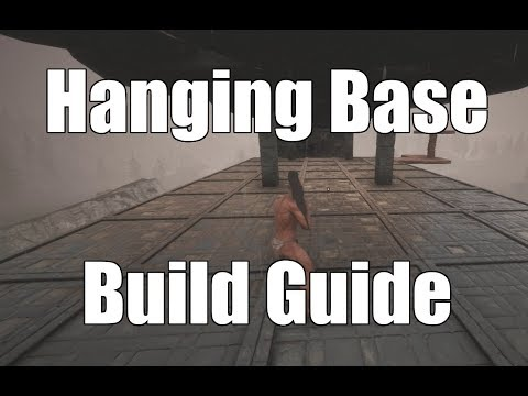 Conan Exiles - How to Build a Hanging Base