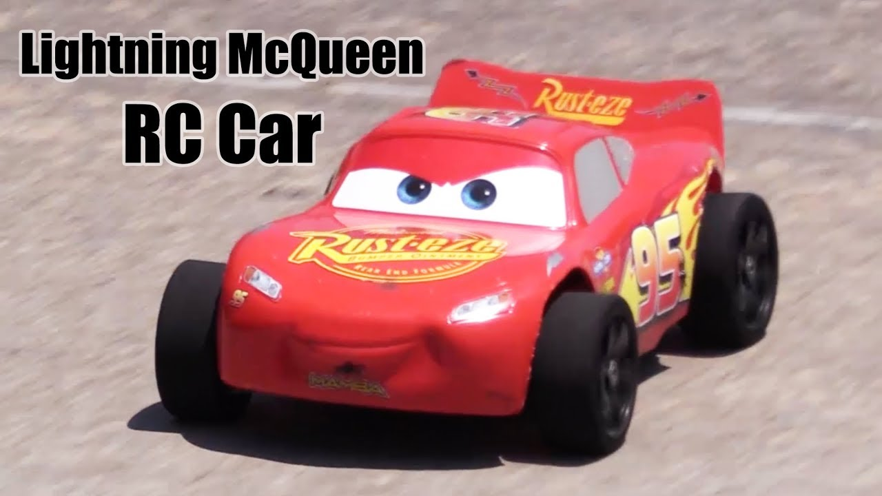 lightning mcqueen body on an rc car youtube. Black Bedroom Furniture Sets. Home Design Ideas