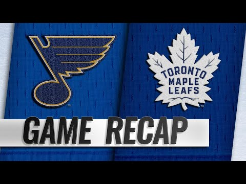 O'Reilly nets first, helps Blues beat Maple Leafs
