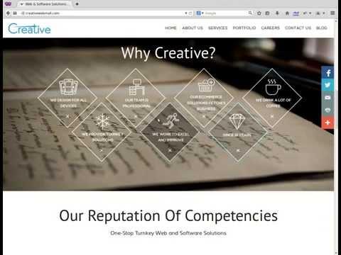 Web design company in Mumbai, India - website demo
