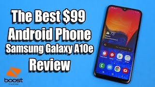 Samsung Galaxy A10e Review - The Best $99 No Contract Android Phone